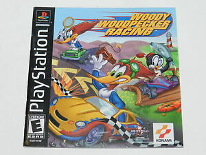 woody woodpecker racing sony playstation ps1 video game manual only rh ebay com playstation game manual scans PlayStation 4 Controller Layout