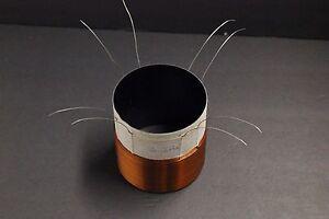 99mm-4-034-quad-2ohm-black-alumine-fomer-COPPER-WIRE-SUBWOOFER-speaker-voice-coil