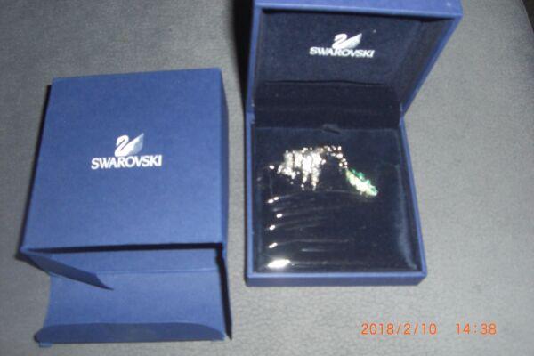 ## Swarovski Gorilla Anhänger ## Neu In Original Verpackung Siehe Bilder
