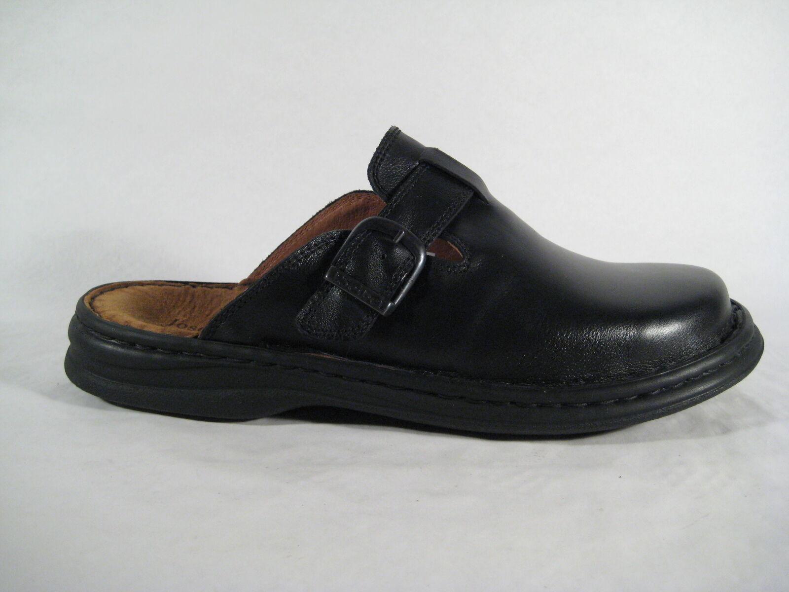 Seibel Clogs Pantolette Pantoffel Pantoletten 10122 schwarz Leder NEU