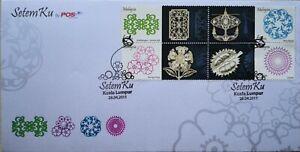 Malaysia FDC with Stamps (28.04.2011) - SetemKu
