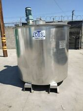 Stainless Steel Tank Stainless Mix Tank 900 Gallon Reconditioned Tested