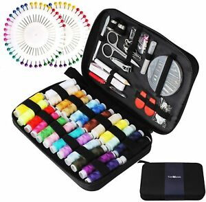 Kit completo per cucito da viaggio, Set per cucire con vari accessori e colori