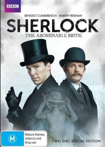 1 of 1 - The Sherlock Holmes -  Abominable Bride (DVD, 2016, 2-Disc Set)