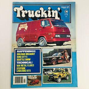 Truckin' Magazine February 1978 Vol 4 #2 Soledad Breakout & Van Metal Flares