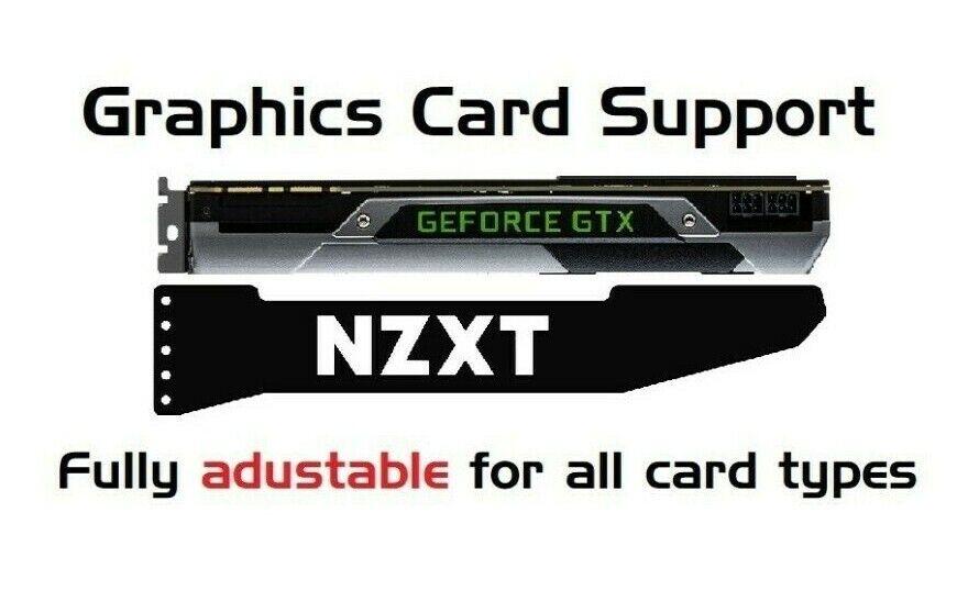 NZXT - ARGB GPU Graphics Card Sag Support Bracket Brace GTX RTX AMD NVIDIA 5V