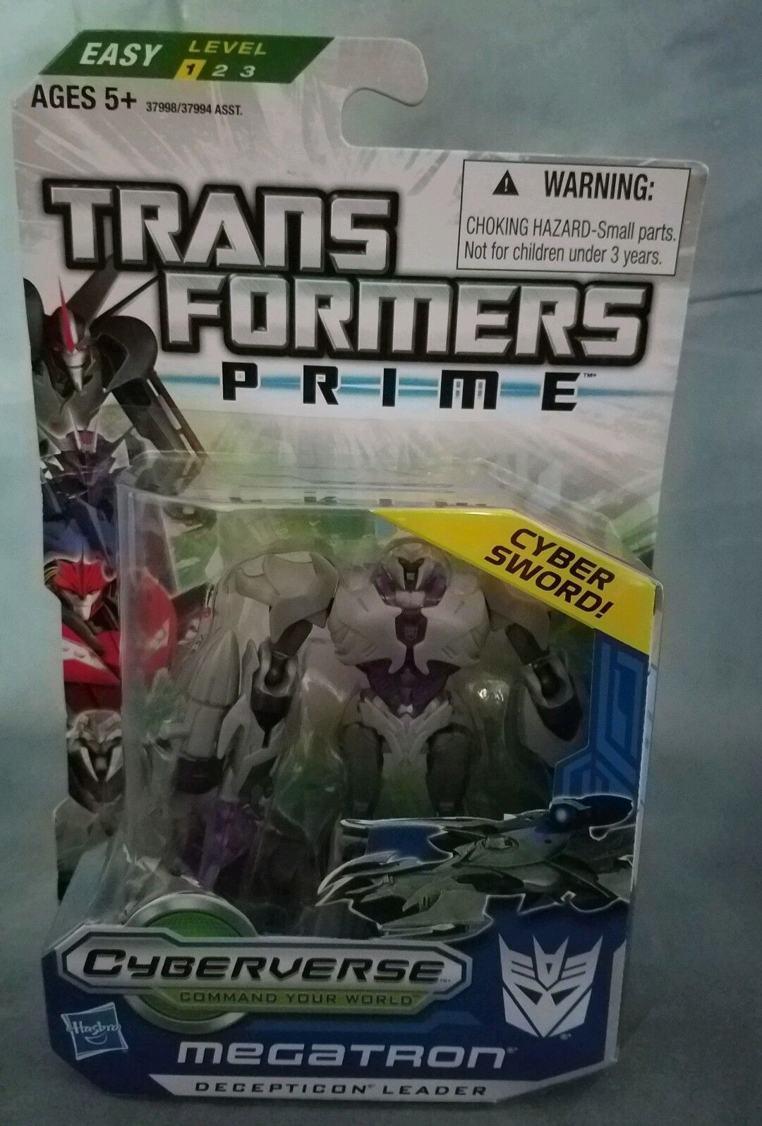 Transformers Prime Robots in Disguise Cyberverse Commander Class Action Figure