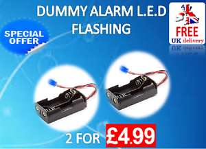 CAR-ALARM-BELL-BOX-FLASHING-L-E-D-LIMITED-OFFER-FREE-P-amp-P-NO-WIRING-REQUIRED