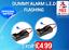 Van-Alarm-L-E-D-Add-On-Flashing-Blue-Led-free-UK-Postage-2-Units-For-4-99