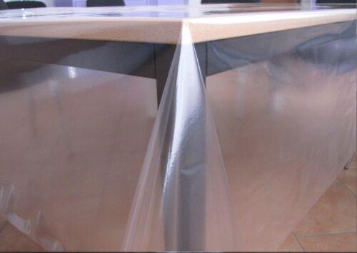 Table film table protection toile cirée film rôle cristallin 200 transparent 0,2 MM