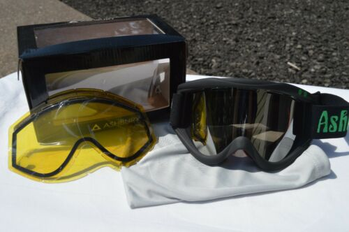 2014 NIB ASHBURY KALEIDOSCOPE SNOW GOGGLES $110 black chris grenier snowboard
