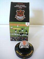 SF Giants 2012 World Series Championship Ring Replica SGA 4/7/2013 NIB