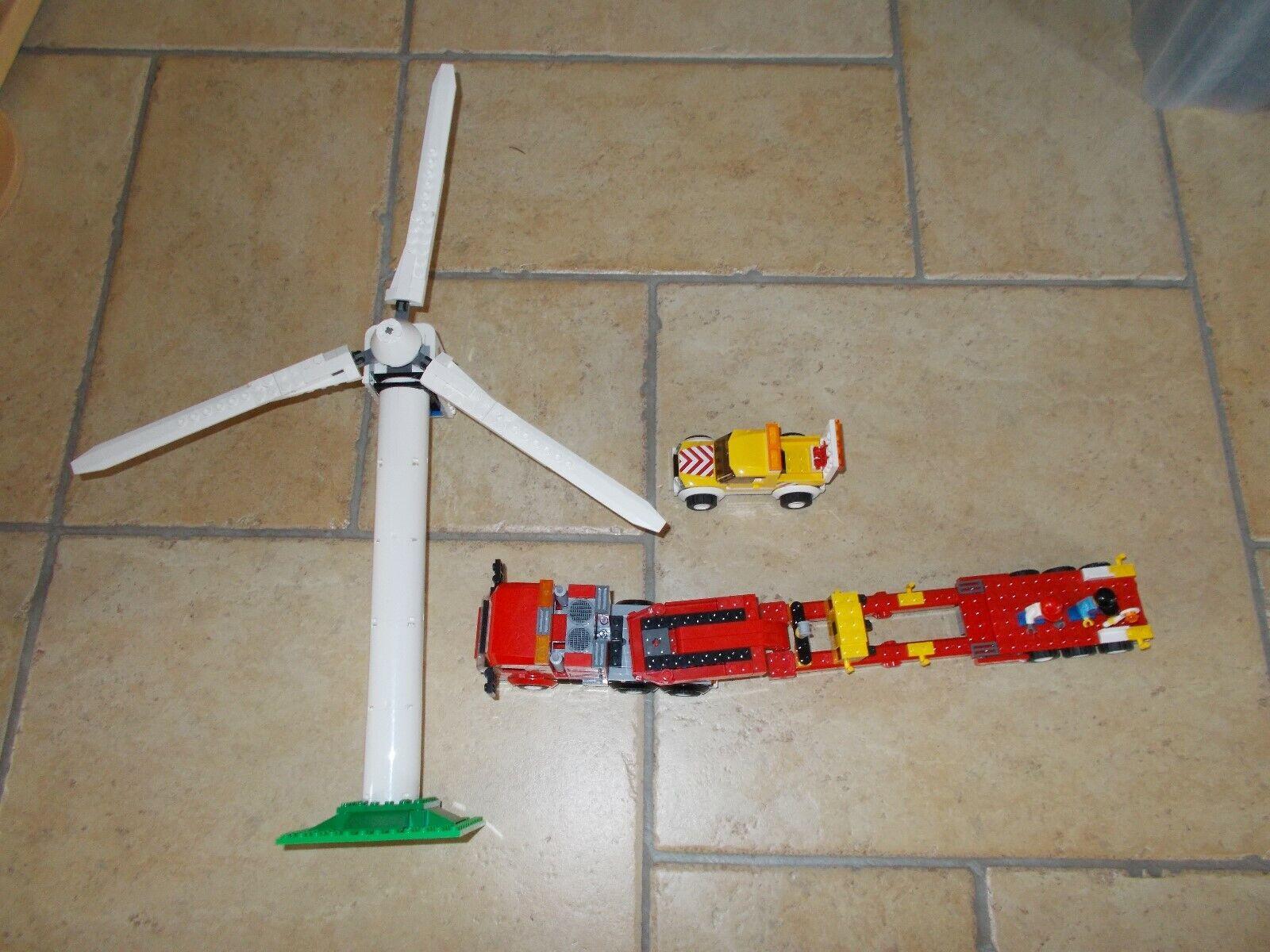 LEGO ® città - 7747-turbine  eoliche-Transporter-con recipe (BA)  spedizione e scambi gratuiti.