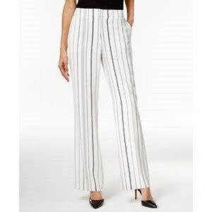 striped straight leg trousers - White Calvin Klein Clearance Visit 2018 Newest Online 83mVrs5KL