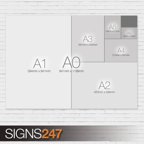 MOVIE POSTER Poster Print Art A0 A1 A2 A3 ZZ085 TAXI DRIVER POSTER DE NIRO