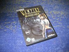 Vampire - The Masquerade: Bloodlines in DVD Hülle mit Handbuch deutsch uncut