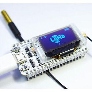 1X Bluetooth Wifi ESP-32 Entwicklungs Board Modul Lora32 Lora 868Mhz Esp32 L B7U