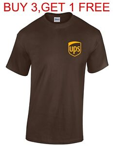 United-Parcel-Service-T-shirt-UPS-T-shirt-Postal-t-shirt