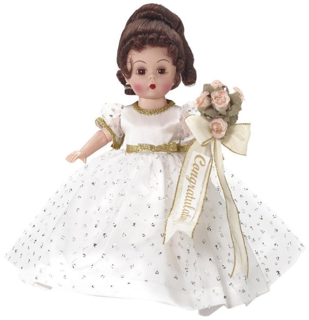 2015 Muñeca Madame Alexander  enhorabuena  8  de pelo morena 69756 nunca quitado de la caja