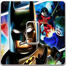 Lego Movie Batman Light Switch Vinyl Sticker Decal for Kids Bedroom #332