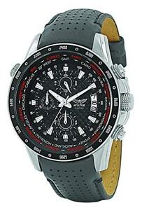 Aviator-AVW7770G78-Men-039-s-WorldTime-Chronograph-Watch