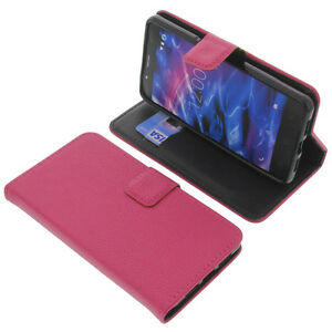 Case-for-Medion-Life-S5004-Book-Style-Protective-Case-Phone-Case-Book-Pink