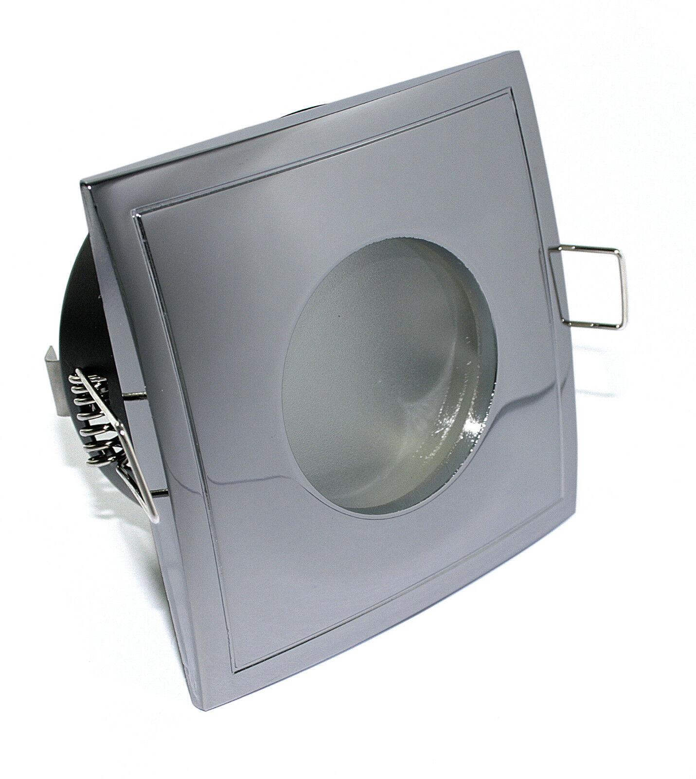 Einbaustrahler IP65 230V Bad COB-LED 3W=3W Außen Dusche Nassraum 5-15x K92146-S