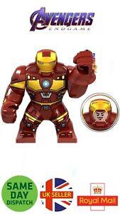 Iron Man Avengers Figure Red Infinity Gauntlet End Game Minifigure UK Seller