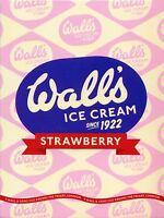 METAL VINTAGE RETRO WALL'S ICE CREAM TIN SIGN WALL PLAQUE / FRIDGE MAGNET