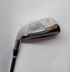 Left-Handed-Cleveland-Hibore-24-Degree-4-Iron-R-Flex-Graphite-Shaft