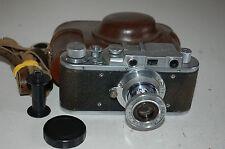 Zorki 1 Type C Vintage Soviet Rangefinder Camera With Case & Cap 1951. No.288095