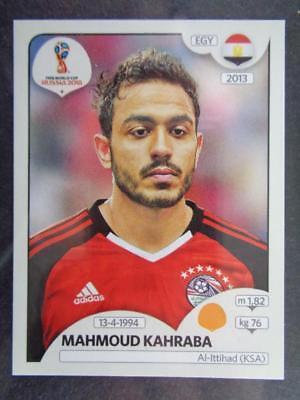 Mahmoud Kahraba Sticker 84 Ägypten Panini WM 2018 World Cup Russia
