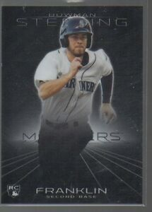NICK FRANKLIN 2013 BOWMAN STERLING ROOKIE CARD #31