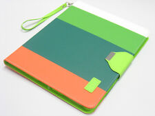Hybrid PU Leather Wallet Flip Stand Case Hard Cover For iPad 2 3rd 4th Gen OGGW