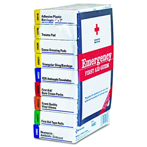 First Aid Kit Refill for 10 People, 59 Count