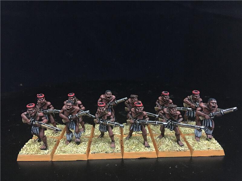 1 56 28mm Colonial War DPS painted Sudan Wars, Zulu Warriors GH1055