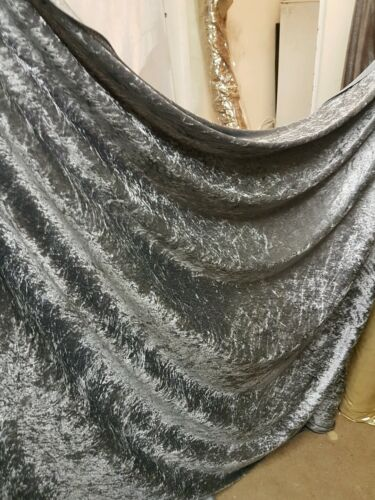 5M gris crush velours large 58