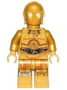 LEGO STAR WARS C-3PO w/DEATH STAR PLANS MINIFIGURE MINIFIG 75159 NEW L044