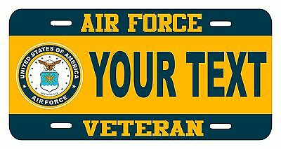 United States ARMY Retired Custom Made License Plate Car Tag IRAQ DESERT STORM