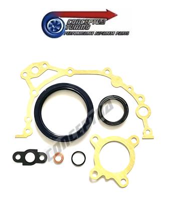 Genuine Front /& Rear Main crank shaft oil seals Fits Nissan Skyline R34 GTT RB25