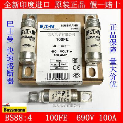 1PCS  Bussmann BS88:4 Fast Fuse 100FE 100FEa Fuse 100A 690V