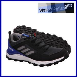 SCHNÄPPCHEN! adidas Terrex Agravic TR GTX \ schwarz/blau \ Gr: 44 2/3 \ #R 22070