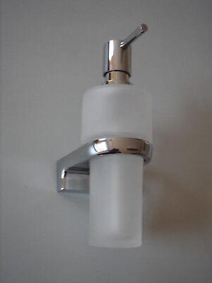Sinnvoll Lotionspender Wandmodel Glas/ Metall Seifenspender Wand Verchromt Volumen Groß Möbel & Wohnen