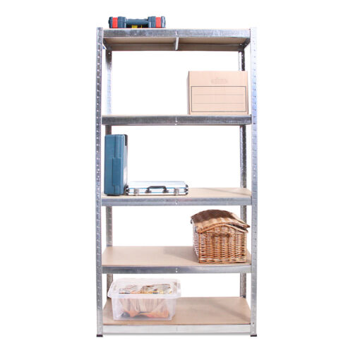 Storage 5 Bay Heavy Duty Garage 5 Tier Shelving Racking Free Delivery 175kg!