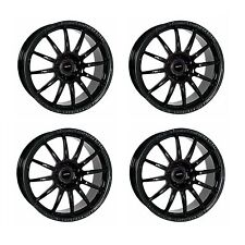 4 x Team Dynamics Black Pro Race 1.2 Alloy Wheels - 4x108 | 17x7 | ET45