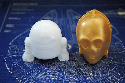Handmade Droid Soaps – Star Wars, R2D2, C3PO, Christmas gift, stocking gift