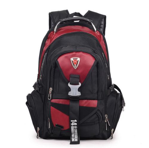 "17/"" Travel Bags Macbook laptop hiking backpack student bag"