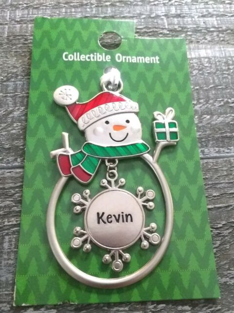 Ganz Light Up The Holidays Ornament Personalized KEVIN