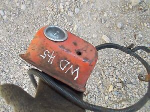 Details about Allis Chalmers WD 45 Tractor AC battery box amp gauge on