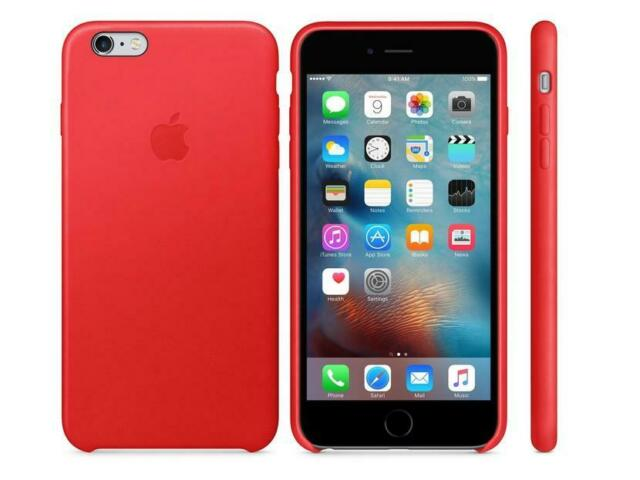 Apple Iphone 6s Plus Product Red Silicone Case For Sale Online Ebay